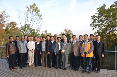 Photo of delegation from Chinese Academy of Sciences with