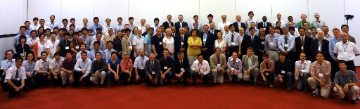 Participants at the first ICSU World Data System Conference held September 3-6, 2011 at Kyoto University in Kyoto, Japan.