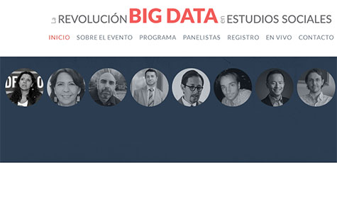 photos of panelists at The Big Data Revolution in the Social Sciences