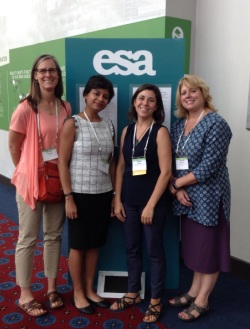 Presenters at the Ecology from Space workshop at the Ecological Society of America annual meeting, Portland, Oregon, August 10