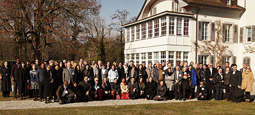Photo of participants in the workshop of the Platform on Disaster Displacement (PDD) Advisory Committee Workshop held February 4–5